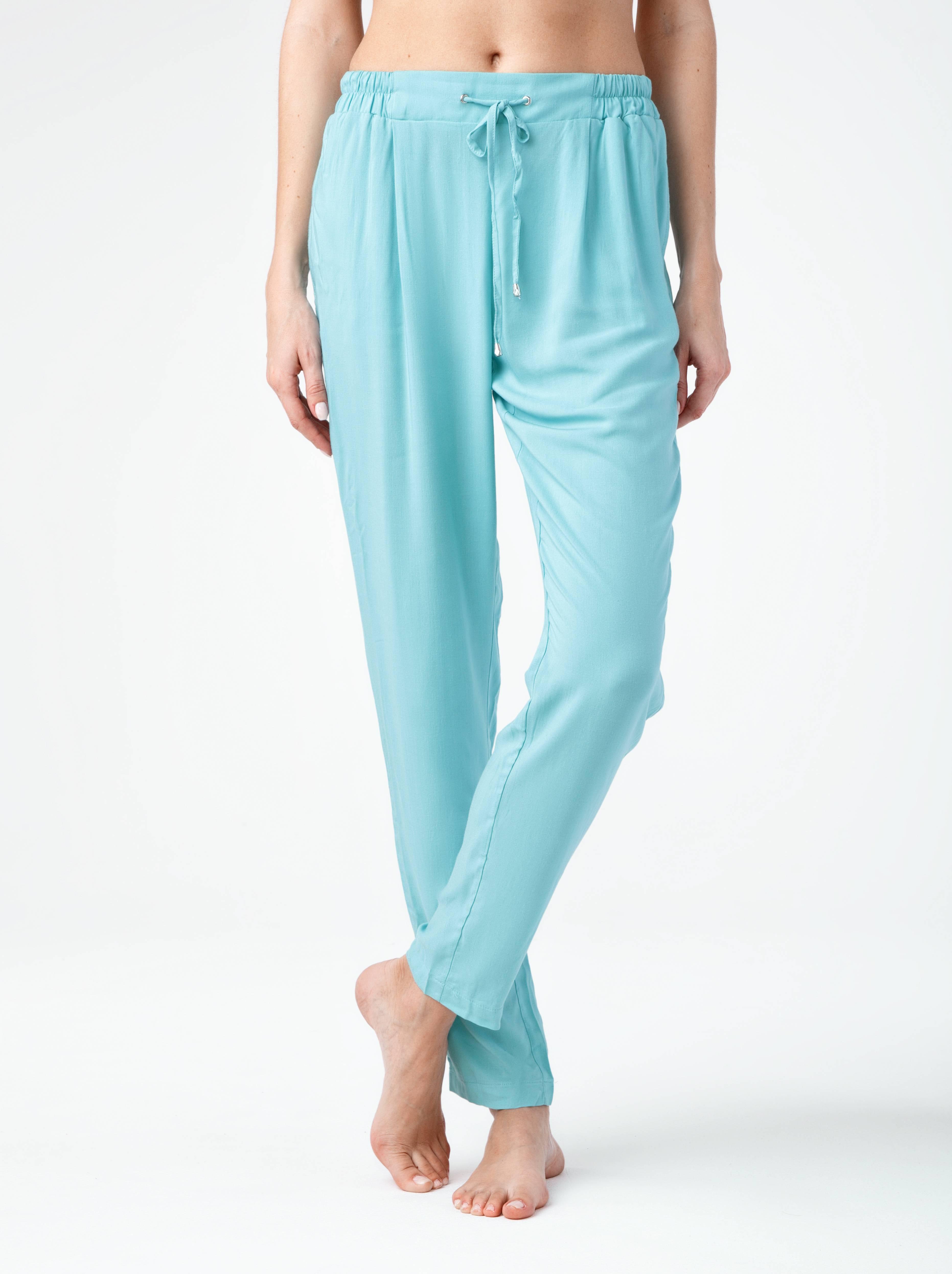Брюки женские ⭐️ Легкие брюки свободного кроя MONTANA ⭐️
