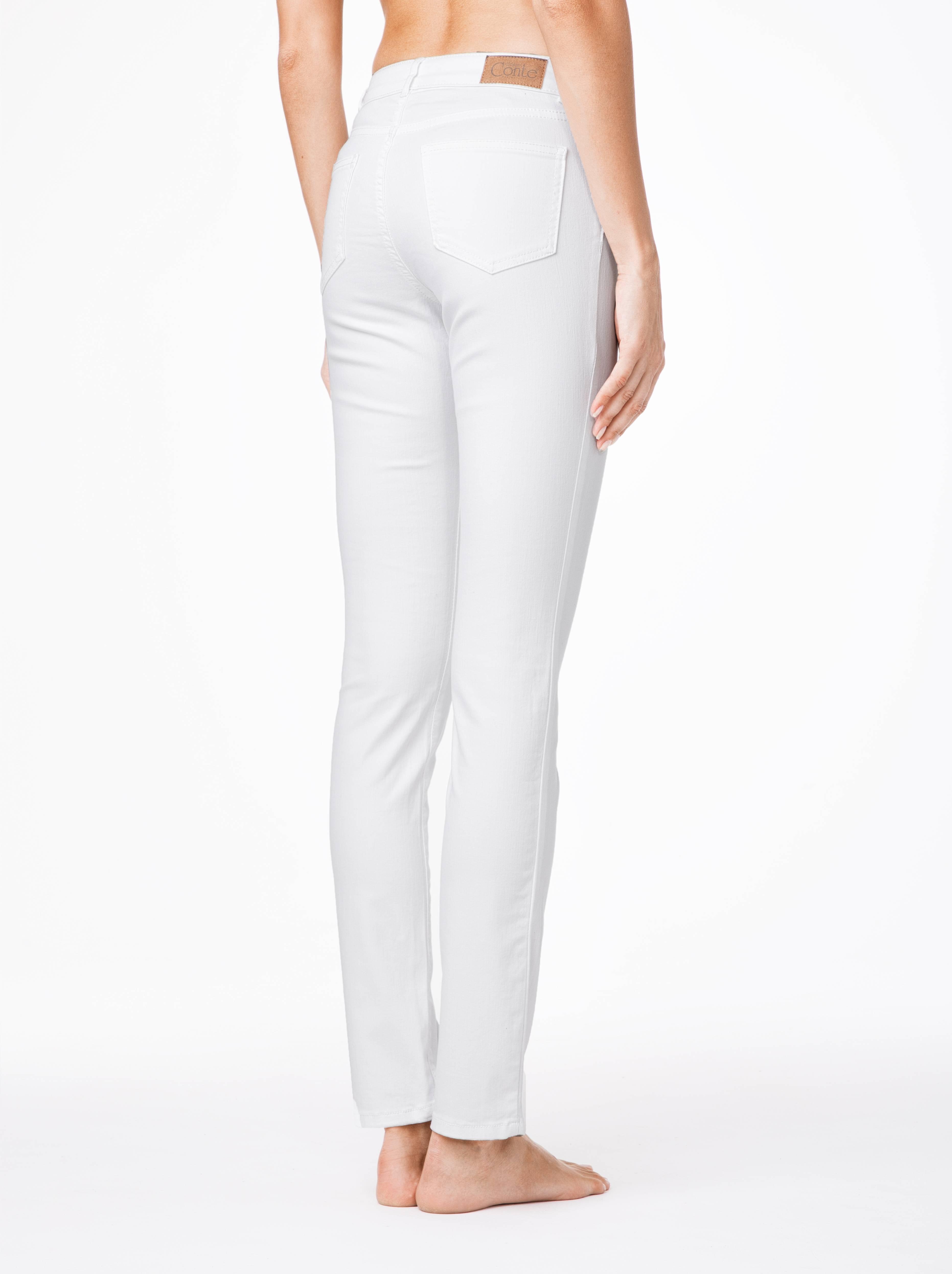 Фото 9 - Джинсы женские классические Conte белого цвета
