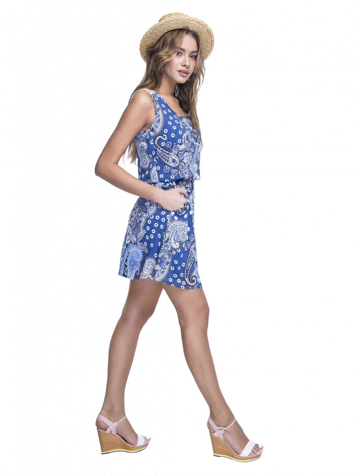 26883ea882d ᐅ Купить платье LPL 529 цвет синий 🛍 в интернет магазине Conte с ...