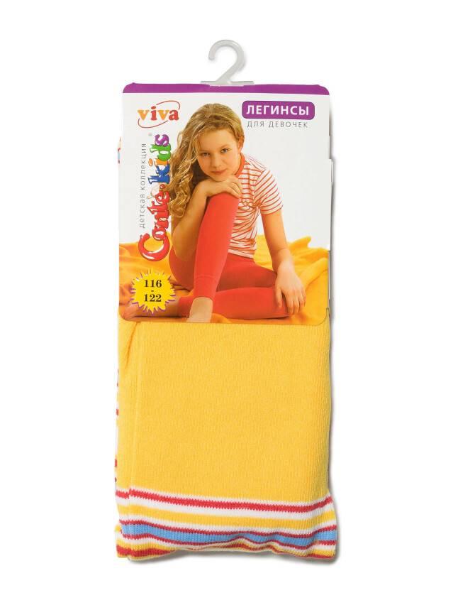 Леггинсы для девочек VIVA 6С-14СП, p. 116-122, желтый, рис. 006 - 2