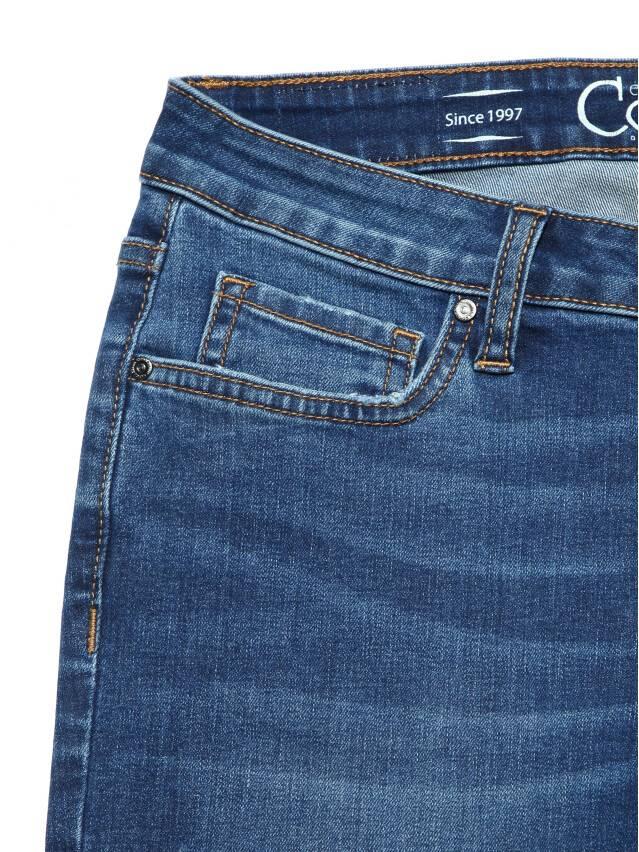Ультракомфортные eco-friendly straight джинсы со средней посадкой CON-152 5