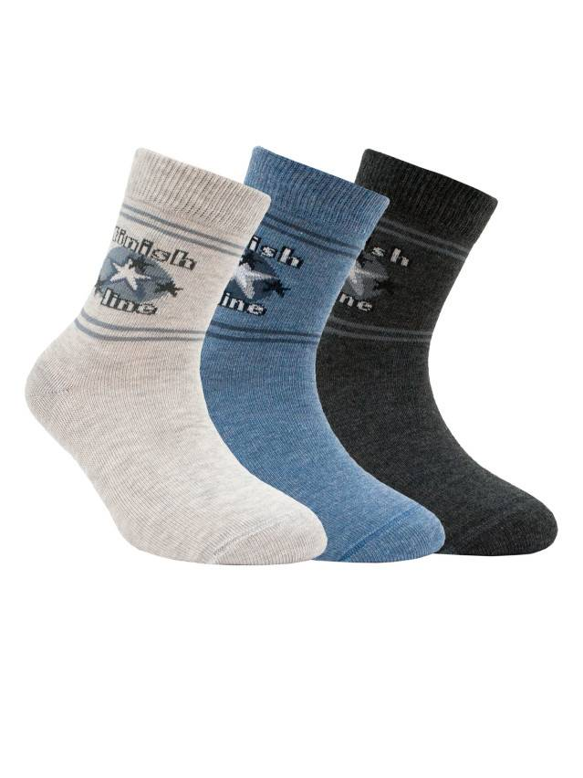 Носки хлопковые детские TIP-TOP 5С-11СП, p. 16, светло-серый, рис. 180 - 1
