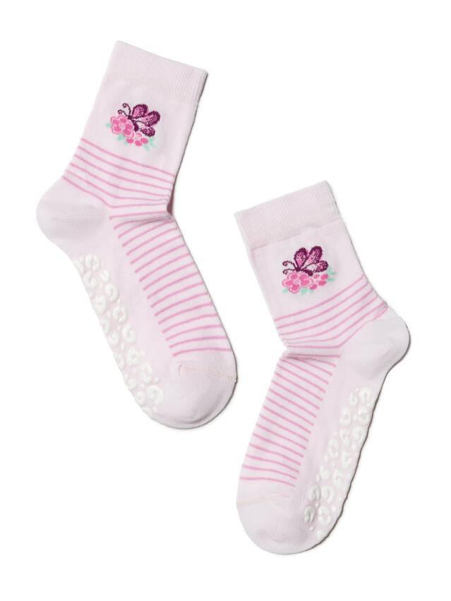 Носки хлопковые детские TIP-TOP (антискользящие) 7С-54СП, p. 16, светло-розовый, рис. 160 - 1