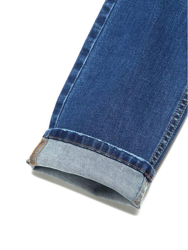 Ультракомфортные eco-friendly straight джинсы со средней посадкой CON-152 8