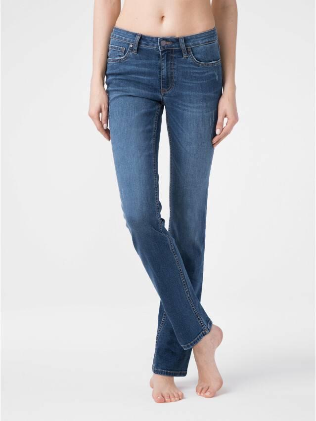 Ультракомфортные eco-friendly straight джинсы со средней посадкой CON-152 1