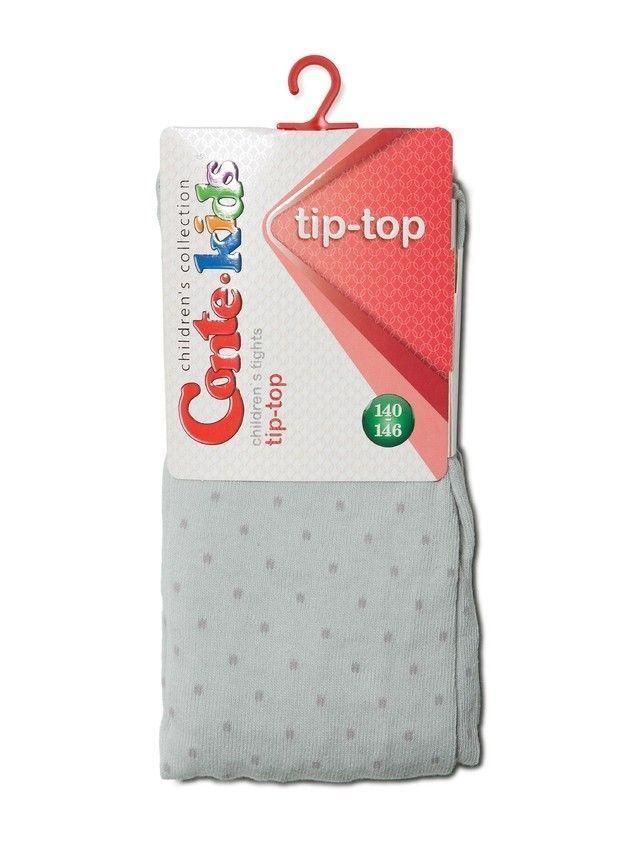 Колготки хлопковые детские TIP-TOP 4С-06СП, p. 140-146, светло-серый, рис. 323 - 2