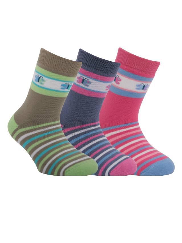 Носки хлопковые детские SOF-TIKI (махровые) 7С-46СП, p. 16, розовый, рис. 096 - 1