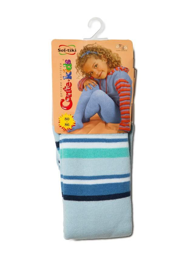 Колготки хлопковые детские SOF-TIKI (махровые внутри) 7С-38СП, p. 80-86, светло-голубой, рис. 223 - 1