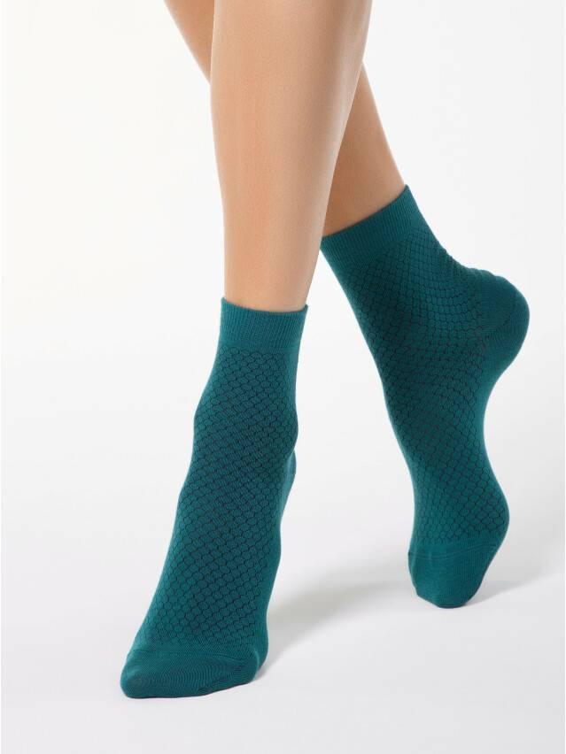 Носки хлопковые женские CLASSIC 15С-15СП, р. 36-37, темно-бирюзовый, рис. 061 - 1
