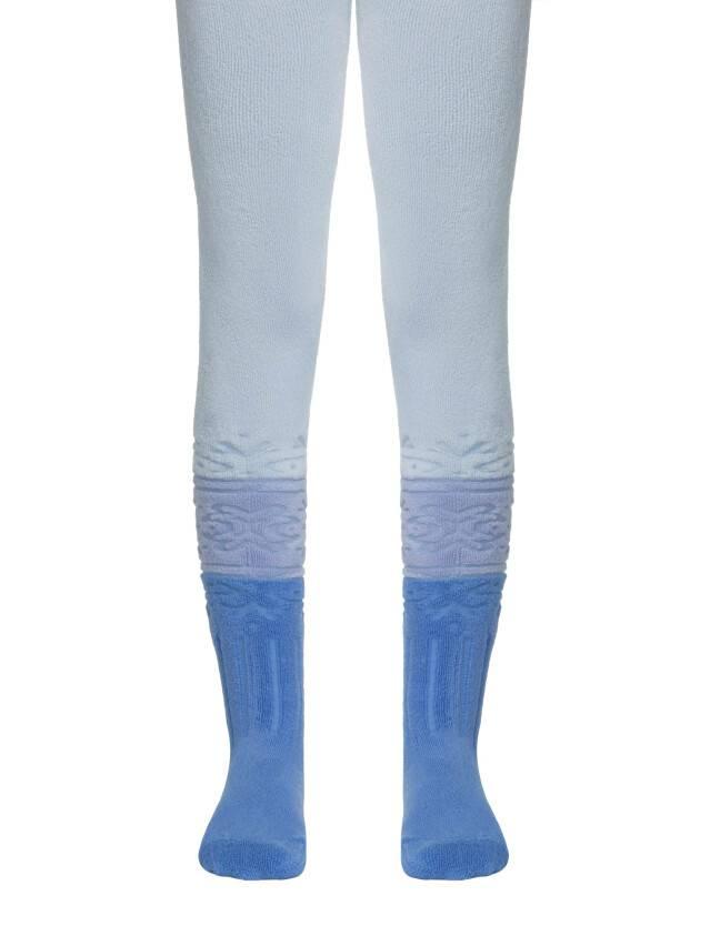 Колготки хлопковые детские SOF-TIKI (махровые) 6С-17СП, p. 116-122, светло-голубой, рис. 255 - 1