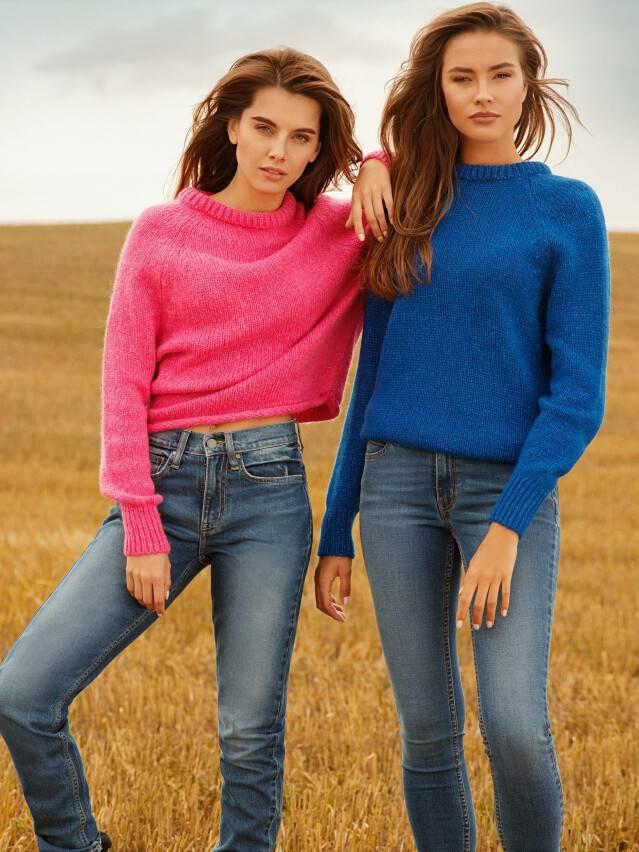 Ультракомфорные eco-friendly джинсы skinny со средней посадкой CON-182 4