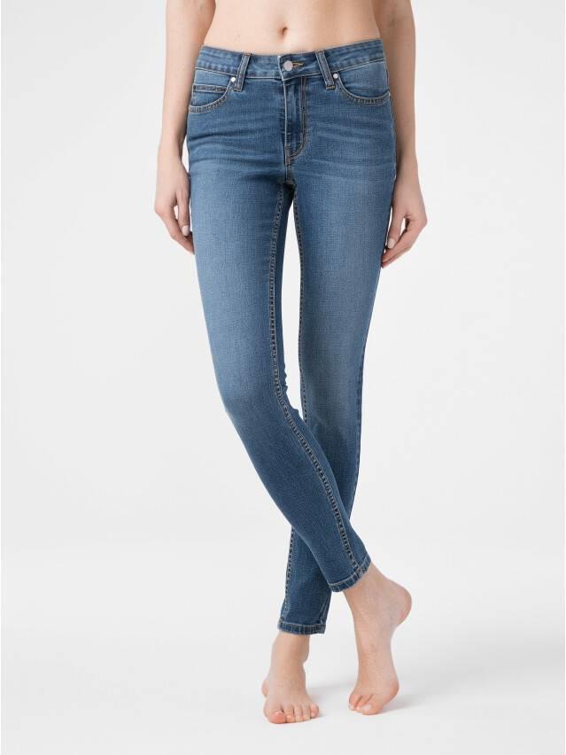 Ультракомфорные eco-friendly джинсы skinny со средней посадкой CON-182 1