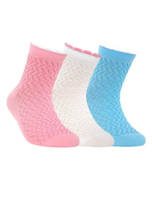 Носки хлопковые детские TIP-TOP (пикот) 7С-28СП, p. 20, светло-розовый, рис. 145 - 1