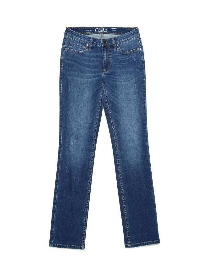 Ультракомфортные eco-friendly straight джинсы со средней посадкой CON-152 3