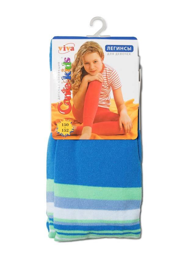 Леггинсы для девочек VIVA 6С-14СП, p. 150-152, синий, рис. 005 - 1