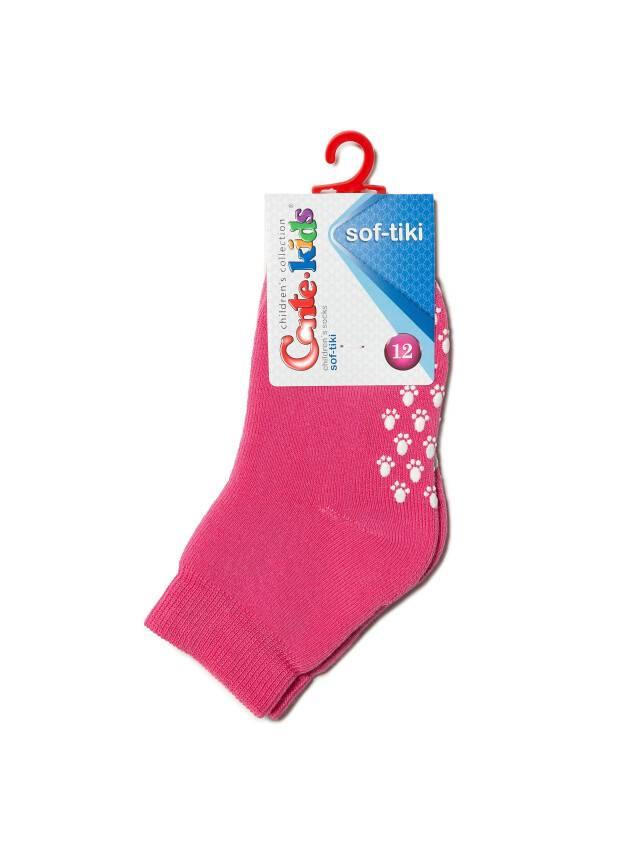 Носки хлопковые детские SOF-TIKI (махровые, антискользящие) 7С-53СП, p. 12, розовый, рис. 000 - 2