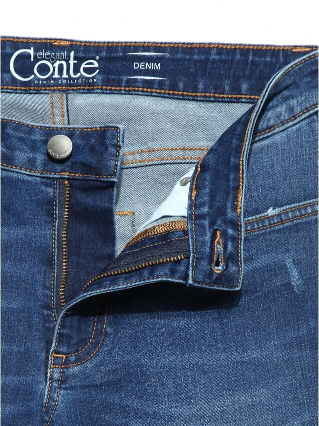 Ультракомфортные eco-friendly straight джинсы со средней посадкой CON-152 6