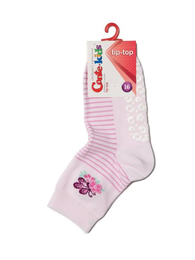 Носки хлопковые детские TIP-TOP (антискользящие) 7С-54СП, p. 16, светло-розовый, рис. 160 - 2