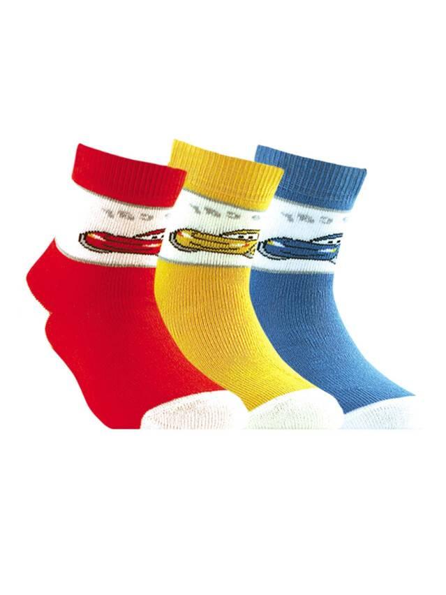 Носки хлопковые детские SOF-TIKI (махровые) 7С-46СП, p. 14, красный, рис. 095 - 1