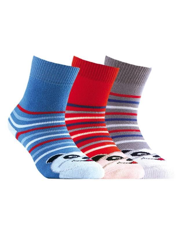 Носки хлопковые детские SOF-TIKI (махровые) 7С-46СП, p. 12, серый, рис. 085 - 1