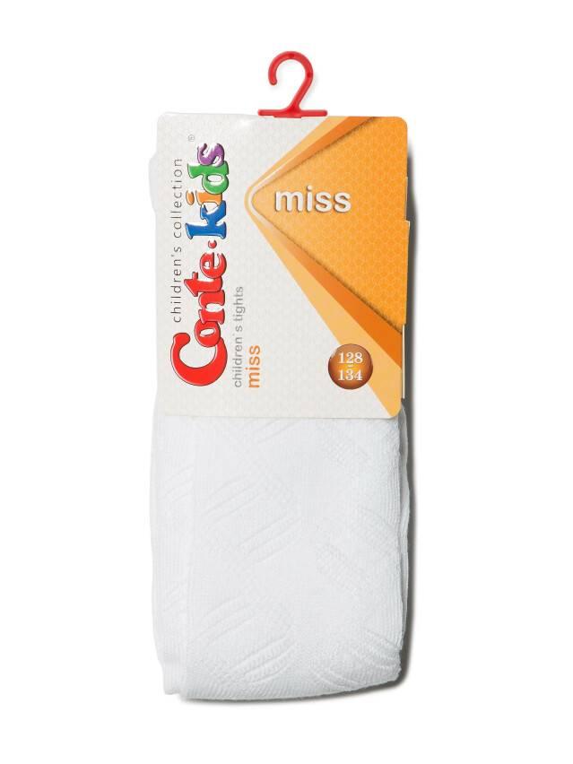 Колготки хлопковые детские MISS (ажурные) 7С-80СП, p. 116-122, белый, рис. 272 - 2