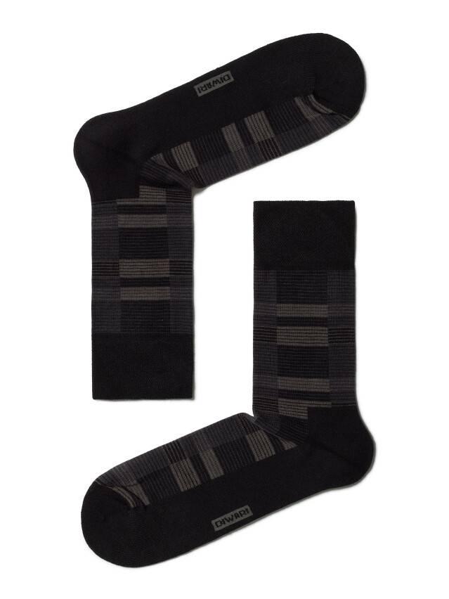 Носки мужские COMFORT (махровая стопа) 6С-18СП, р. 40-41, черный, рис. 013 - 1