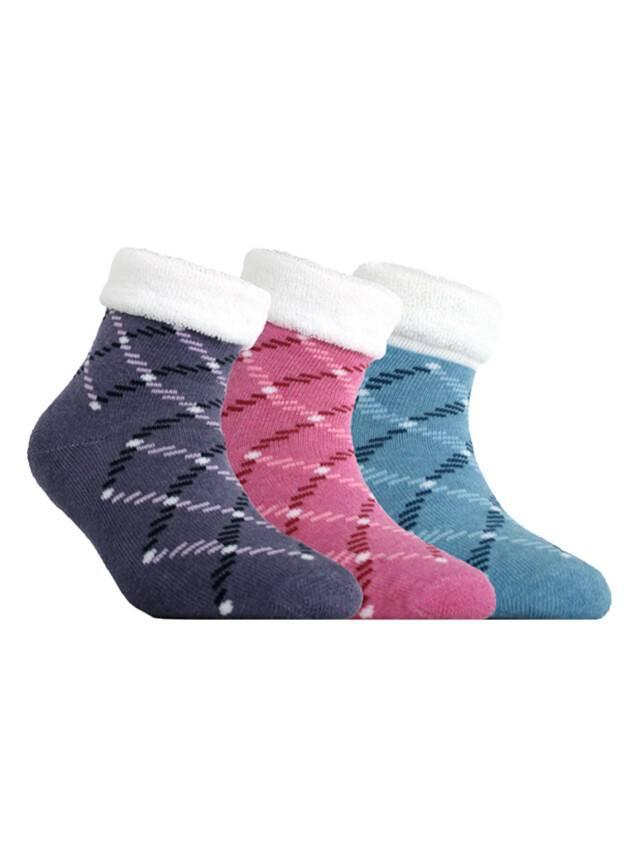 Носки хлопковые детские SOF-TIKI (махровые с отворотом, антискользящие) 7С-98СП, p. 12, розовый, рис. 120 - 1