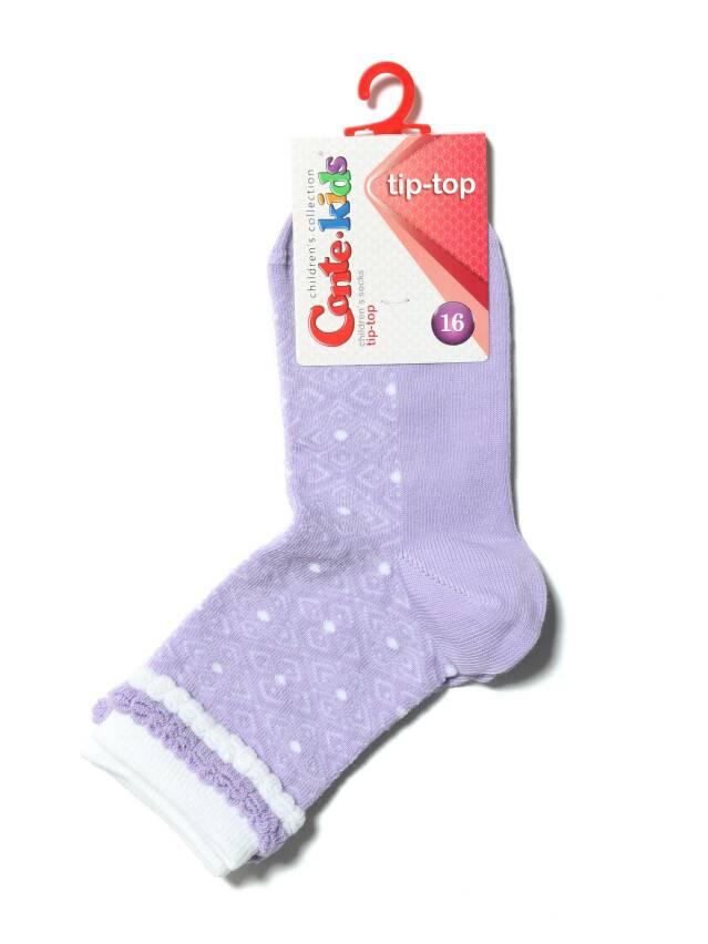 Носки хлопковые детские TIP-TOP (пикот) 14С-15СП, p. 16, сиреневый, рис. 191 - 2