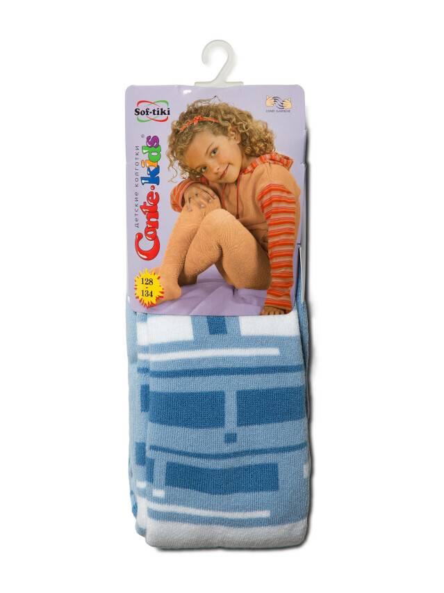 Колготки хлопковые детские SOF-TIKI (махровые внутри) 7С-38СП, p. 128-134, голубой, рис. 243 - 2