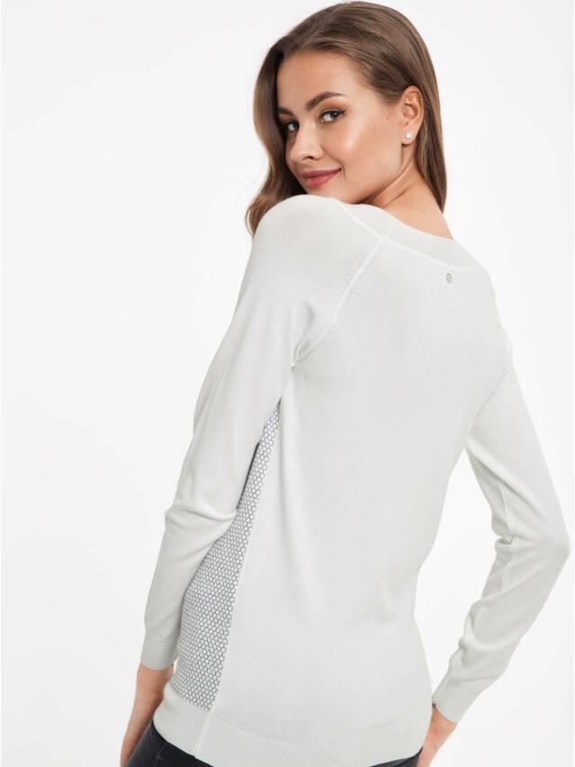 ᐅ Купить экстрамягкий фактурный джемпер женский с металлическим блеском 036 белый в Минске цвет белый ?️ в интернет магазине с доставкой по Беларуси