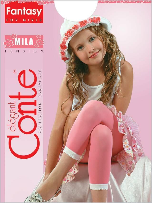 Леггинсы для девочек MILA 8С-110СП, p. 116-122, nero - 1