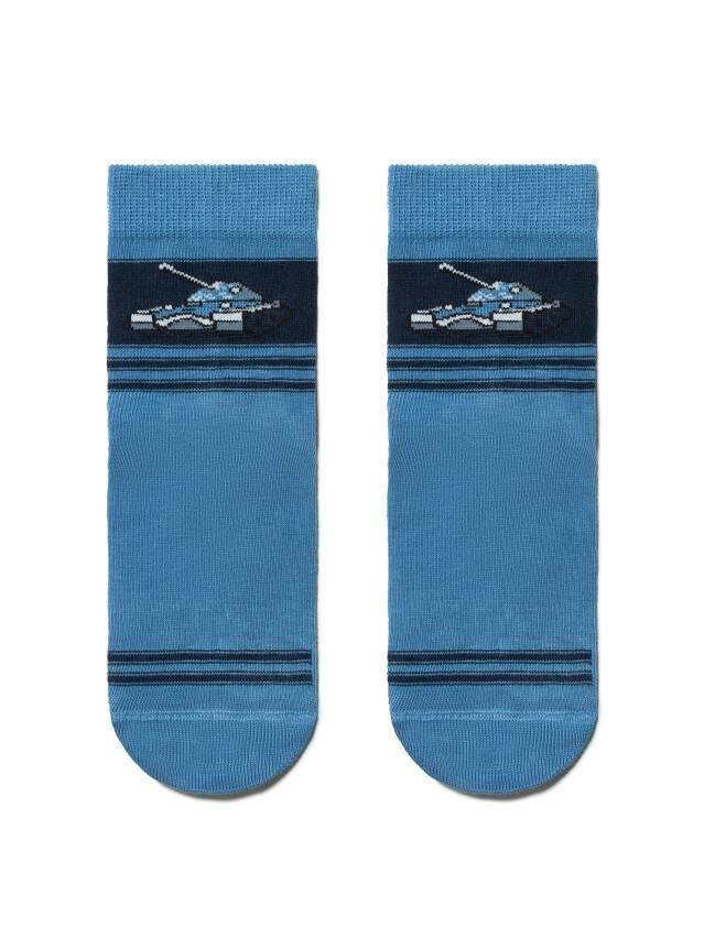 Носки хлопковые детские TIP-TOP (антискользящие) 7С-54СП, p. 16, темно-голубой, рис. 161 - 2