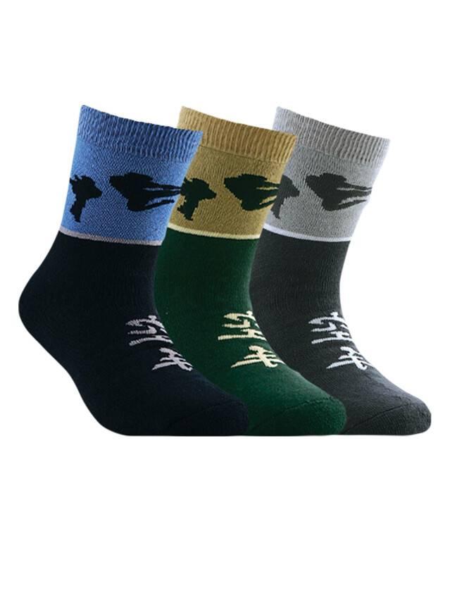 Носки хлопковые детские SOF-TIKI (махровые) 7С-46СП, p. 20, темно-серый, рис. 092 - 1