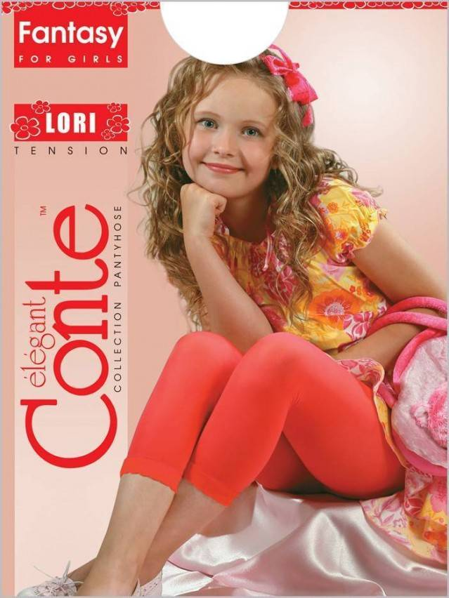 Леггинсы для девочек LORI 8С-110СП, p. 128-134, rosso - 1