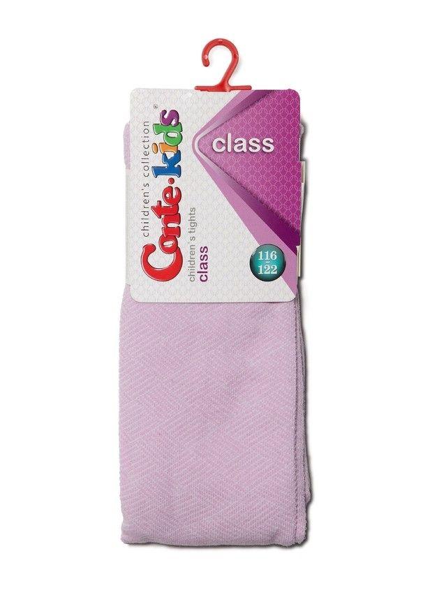 Колготки хлопковые детские CLASS (тонкие) 7С-31СП, p. 104-110, сиреневый, рис. 199 - 2