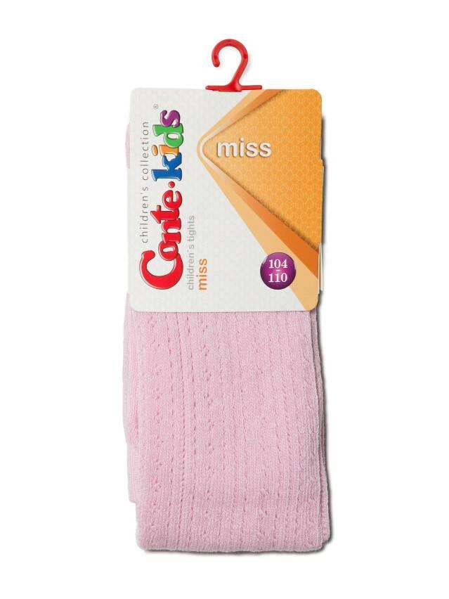 Колготки хлопковые детские MISS (ажурные) 7С-80СП, p. 104-110, светло-розовый, рис. 270 - 2