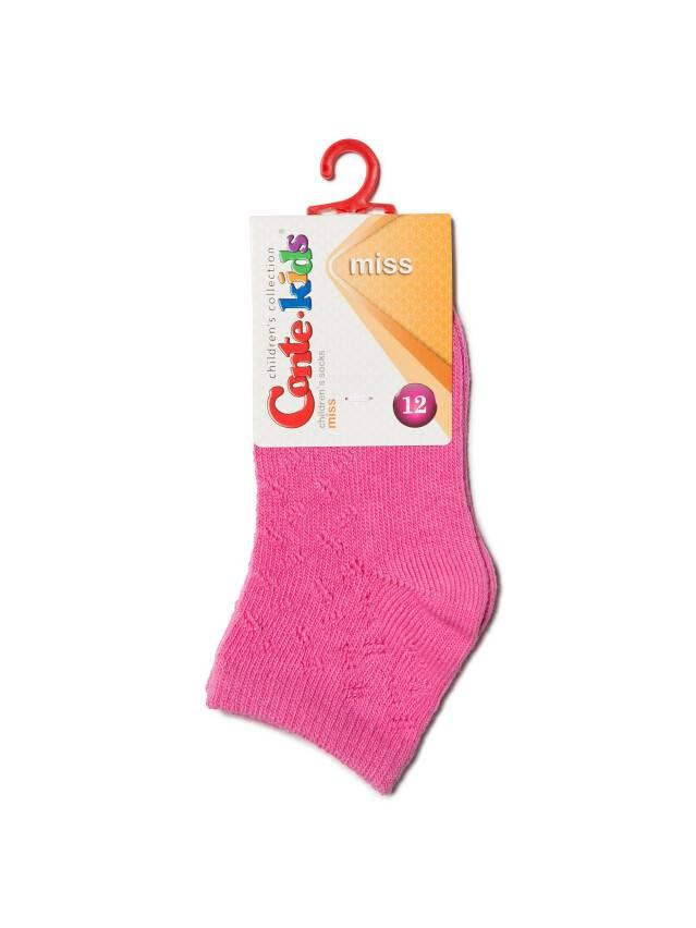 Носки хлопковые детские MISS (ажурные) 7С-76СП, p. 12, розовый, рис. 113 - 2