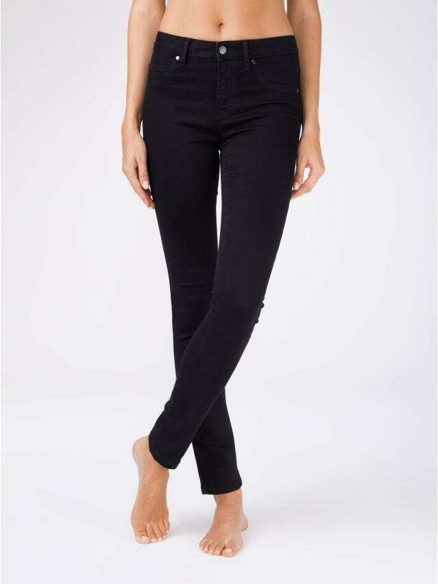 ᐅ Купить моделирующие черные джинсы skinny с высокой посадкой CON-96 lycra® в Минске цвет черный ?️ в интернет магазине с доставкой по Беларуси