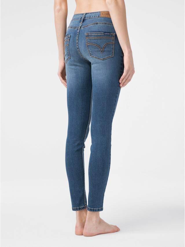 Ультракомфорные eco-friendly джинсы skinny со средней посадкой CON-182 2