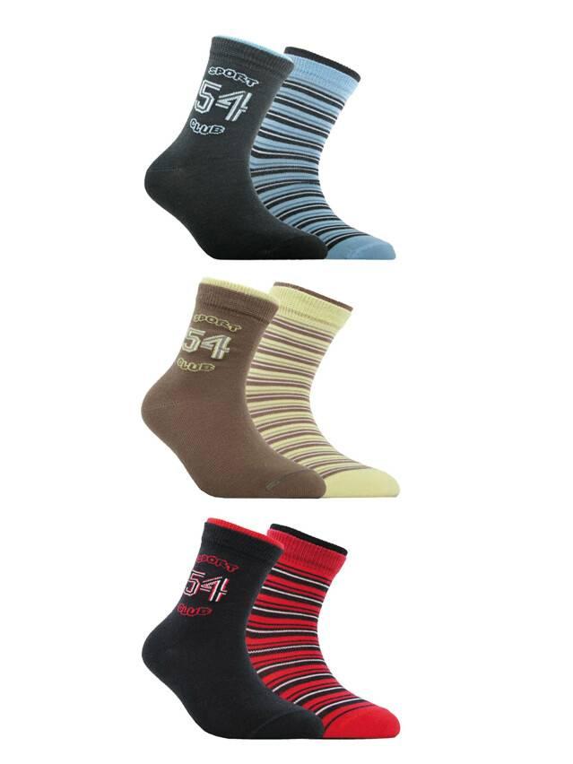 Носки хлопковые детские TIP-TOP (2 пары) 7С-91СП, p. 16, темно-синий-бордо, рис. 701 - 1