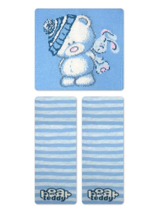 Колготки хлопковые детские TIP-TOP 4С-01СП, p. 62-74, голубой, рис. 331 - 4