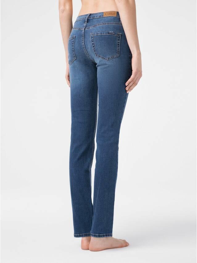 Ультракомфортные eco-friendly straight джинсы со средней посадкой CON-152 2