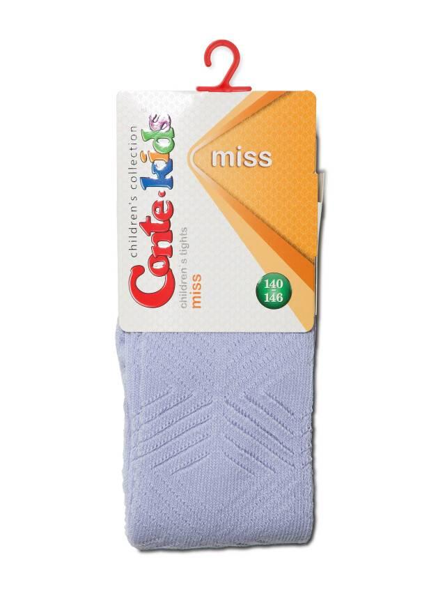 Колготки хлопковые детские MISS (ажурные) 7С-80СП, p. 140-146, бледно-фиолетовый, рис. 274 - 2