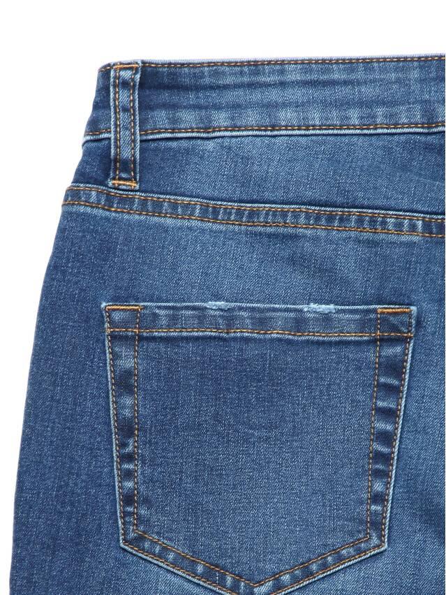 Ультракомфортные eco-friendly straight джинсы со средней посадкой CON-152 7