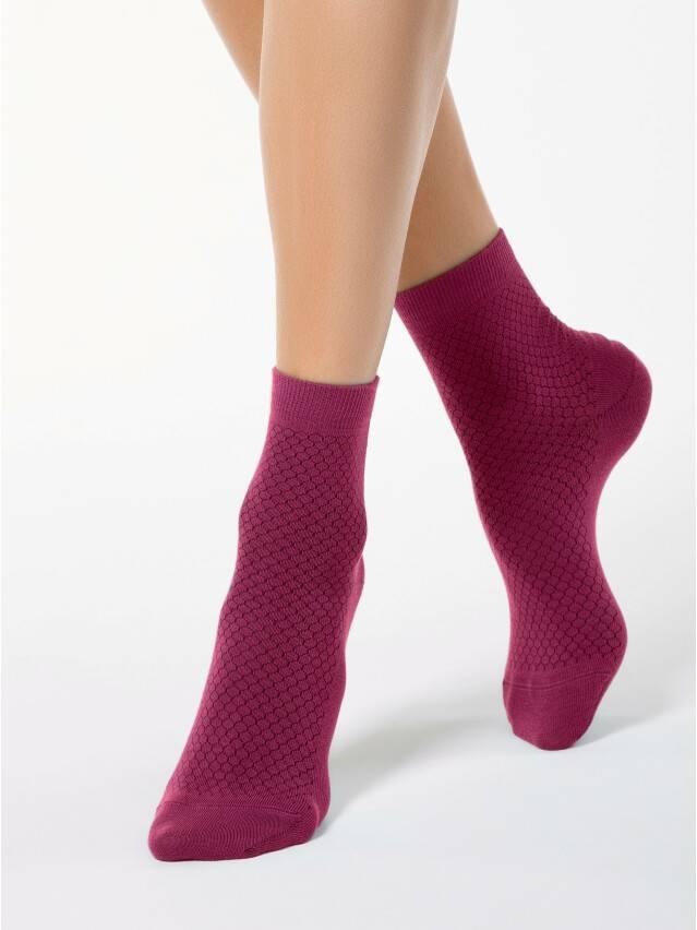 Носки хлопковые женские CLASSIC 15С-15СП, р. 36-37, фуксия, рис. 061 - 1