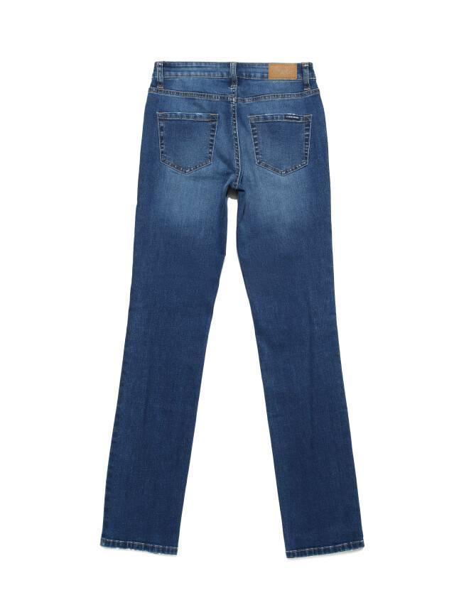 Ультракомфортные eco-friendly straight джинсы со средней посадкой CON-152 4