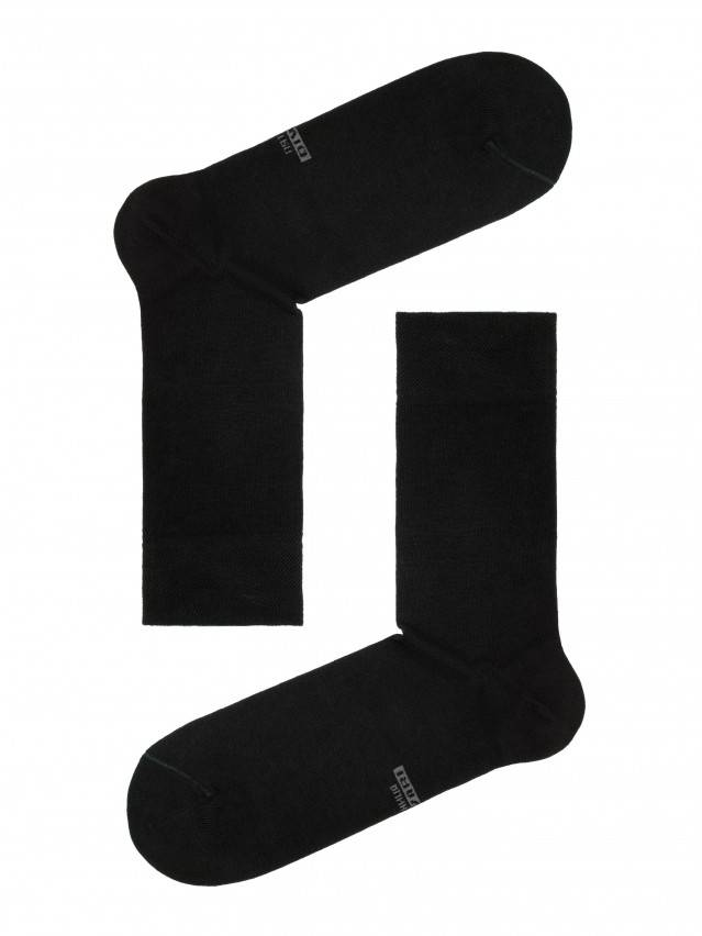 Носки мужские CLASSIC 7 дней (7 пар) 5С-08СП, р. 40-41, черный, рис. 100 - 1