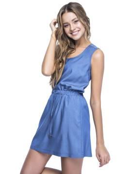платье женское платье LPL 531 15С-081ТСП, размер 164-84-92, цвет синий