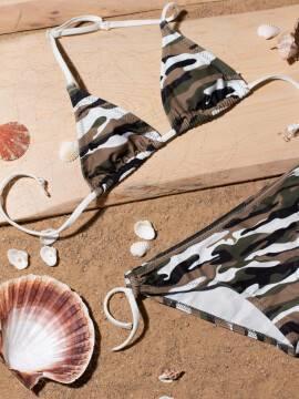 купальник детский купальник для девочек JESSICA , размер 152-76, цвет серый-лимонный