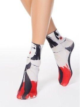 Носки полиамидные женские FANTASY 70 17С-34СП, размер 23-25, цвет mix